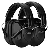 ProCase Noise Reduction Ear Muffs 2 Pack, NRR 28dB