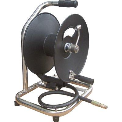 General Pump Hand-Carry High-Pressure Hose Reel - 5000 PSI, 100ft. x 3/8in. Capacity, Model# 2100357
