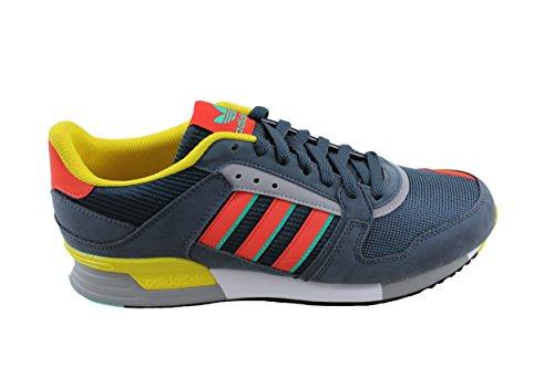 Chaussures Adidas Originals Zx 630 Gris-jaune-rouge
