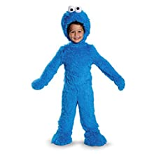 Cookie Monster Extra Deluxe Plush Costume, Medium (3T-4T)