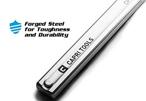 Capri Tools 20-Inch Heavy Duty All Steel Bar Clamp, 5-1/2-Inch Throat Depth, 2,645 lb Clamping Force by Capri Tools (Image #6)