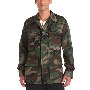Propper Men's BDU Coat, Woodland, Medium Regular