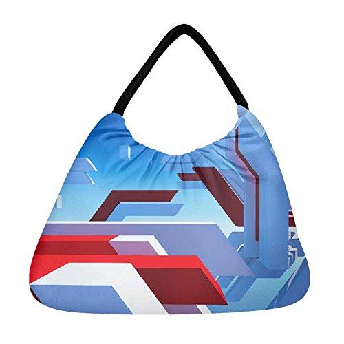 mehrfarbig Snoogg Strandtasche mehrfarbig Snoogg Snoogg mehrfarbig Strandtasche Damen Strandtasche Damen Damen mehrfarbig mehrfarbig PRqRE