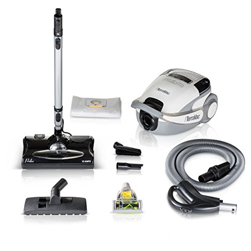 Prolux TerraVac Quiet 5 Speed Canister Vacuum Cleaner