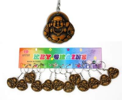 Lote 3 - llavero Buda de PVC de 7,5 cm - Calidad ...