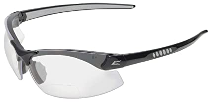 972bba981999 Image Unavailable. Image not available for. Color  Edge Eyewear Clear  Scratch-Resistant Safety Reading Glasses
