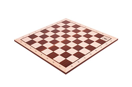 The House of Staunton Maple & Mahogany Wooden Chess Board - 2.5