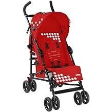 Dream On Me/Mia Moda Facile Umbrella Stroller, Red