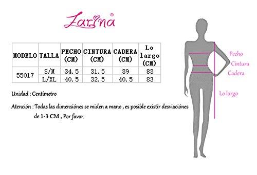 para Mujer Bandage Ajustado sin Mangas Bodycon 55017negro Vestido Dress Vestidos rayón Vestido FARINA® Vendaje Bandage OE7Pwa