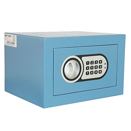 QNN Safe CX-1625 Hotel and Residential Safe, Blue