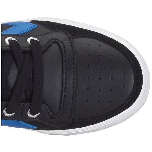 hummel STADIL HIGH 63-066-2640, Baskets mode mixte adulte Noir / Bleu