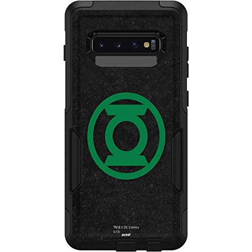 Skinit Green Lantern OtterBox Commuter Galaxy S10 Plus Case Skin - Officially Licensed DC Comics Case Decal - Ultra Thin, Lightweight Vinyl Decal Personalization