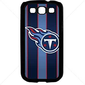 NFL American football Tennessee Titans Fans Samsung Galaxy S3 SIII I9300 TPU Soft Black or White case (Black)