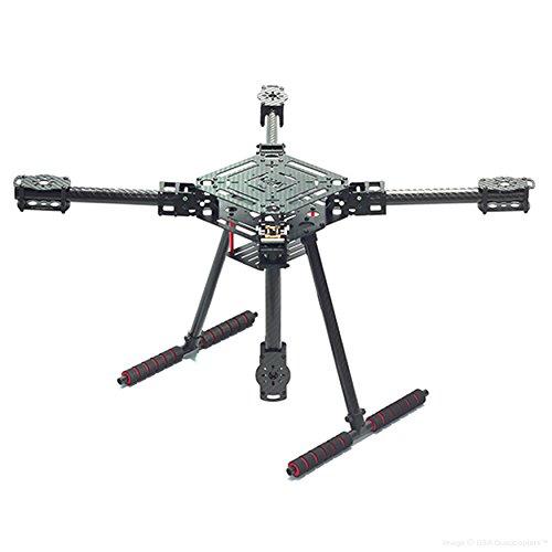 Usaq 550mm Compact Folding Quadcopter Drone Frame Kit Full
