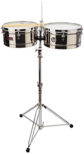 Latin Percussion LP1314-S Timbal Stainless Steel by Latin Percussion