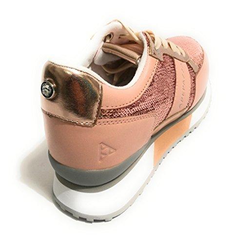 pailleté Chaussures Renee Baskets Coin RSD14 Apepazza en Poudre Cipria Basses A4RZ4Cq