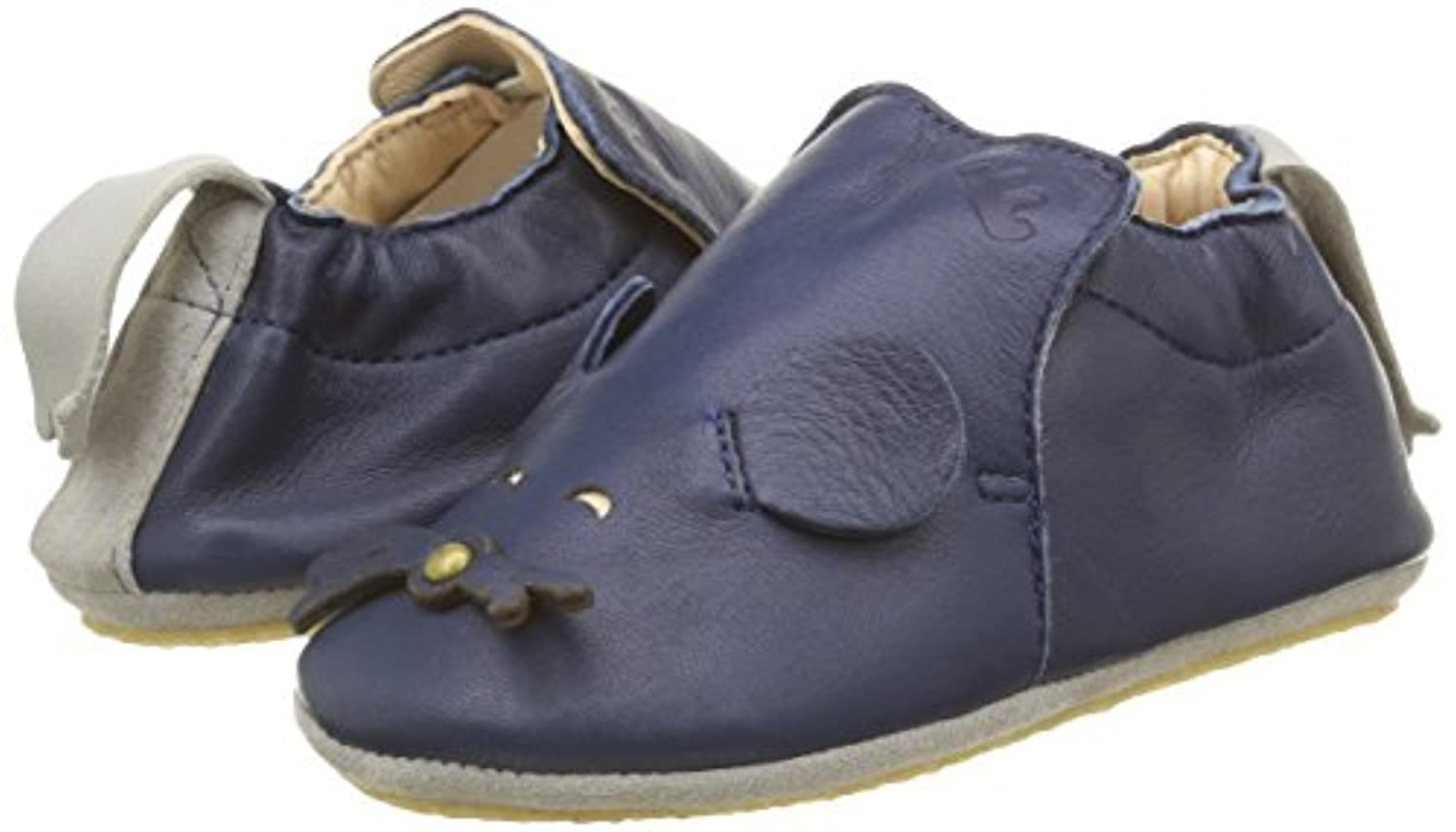 Easy Peasy Boys' Blublu Mousse Warm Lined Shoes Blue Size: 6.5 UK