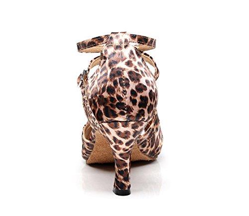 Tango Sandales Femme 5cm Salsa Talons Jshoe De Aiguille7 uk5 Latine Jazz Danse Pour Moderne Eu37 Chaussures Talon Hauts Chacha Our38 Samba 0wx0nB