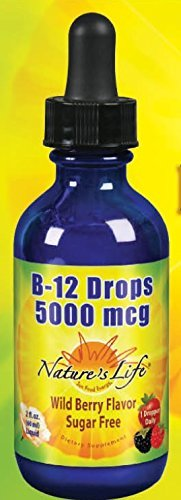 B-12 Methlycobalamin Wild Berry Nature's Life 2 oz Liquid