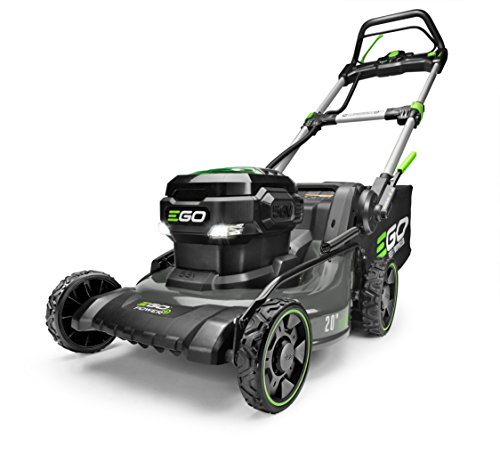 EGO Power+ LM2020SP 20-Inch 56-Volt Lithium-ion Brushless Steel Deck Walk Behind Self-Propelled Lawn Mower Battery and Charger Not Included, 56 V, Green