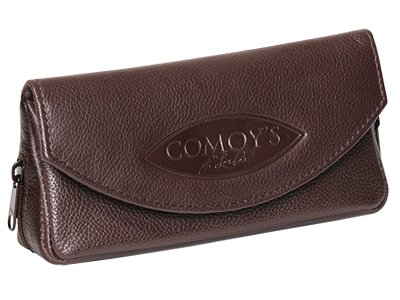 Comoy's Leather Pipe Tobacco Pouch ~ Choose Your Style (Brown (Comoys Pipe)
