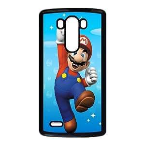 LG G3 Cell Phone Case Black Super Mario 001 Delicate gift JIS_393287