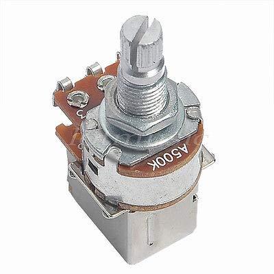 (FidgetGear 1pcs Chrome A500k Push Pull Guitar Control Pot Potentiometer)