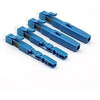 10pcs/lots FTTH Cable de fibra óptica LC rápida