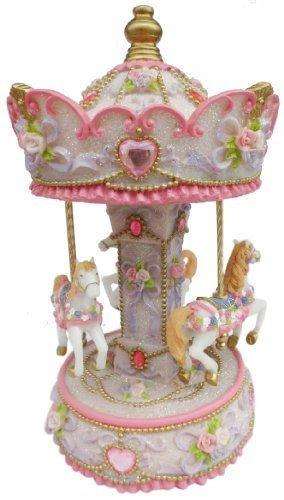 2019年秋冬新作 Musicbox B017MYAD2G Kingdom Kingdom Carousel Turns Melody