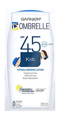 OMBRELLE KIDS ,Ombrelle Lotion SPF 45, Mexoryl Technology 240 ml / 8 oz