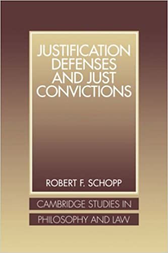 Justification Defenses and Just Convictions