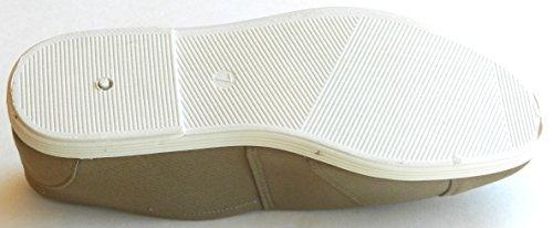 Femmes Multie Couleur Bas Bas Sneakers Formateurs Toile Slip Sur Été Plage Plat Chaussures De Mode Khai