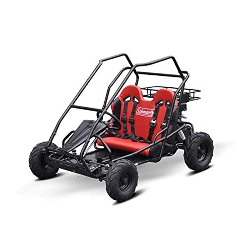 Coleman Powersports 196cc/6.5HP KT196 Gas Powered Off-Road Go Kart
