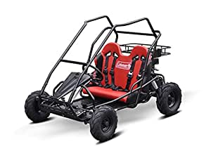 Coleman Powersports 196cc/6.5HP KT196 Go Kart Gas Powered Off-Road Go Cart for Adults and Kids (13+)