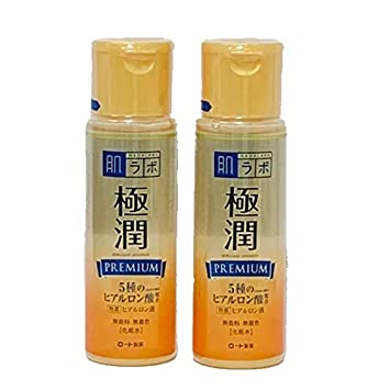 Rohto Hadalabo Gokujyun Premium Hyaluronic Acid Lotion 5.7floz 170ml 2 bottle set