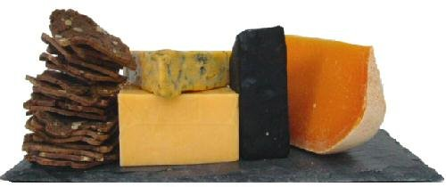 Colorful Cheese Assortment by Gourmet-Food by Gourmet-Food