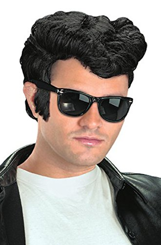 Dannys Grease Costumes Wig (Adult 1950s Greaser Wig)