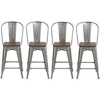 set of 4 bar stools. BTEXPERT 24\ Set Of 4 Bar Stools