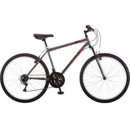 Roadmaster 26' Men's Granite Peak Men's Bike (26 Inches, Black/Red) (26 Inches,...