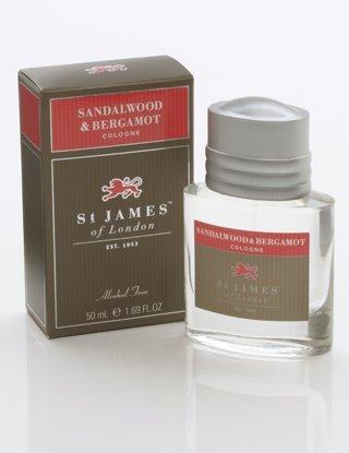 - St James of London Sandalwood & Bergamot Cologne