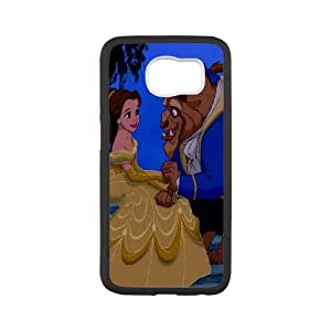 Disney Beauty and The Beast Productive Back Phone Case For Samsung Galaxy S6 -Pattern-8