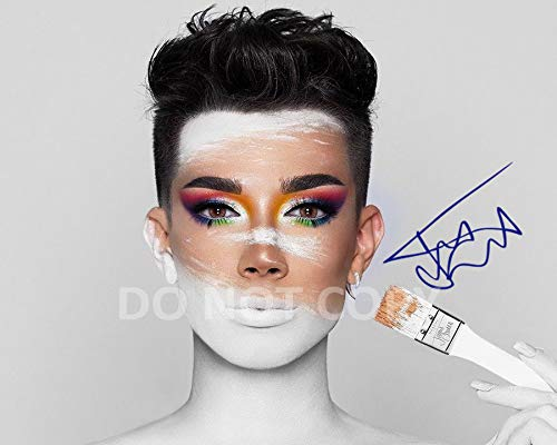 James Charles model make-up artist reprint signed autographed 8x10 Photo #1 Sisters