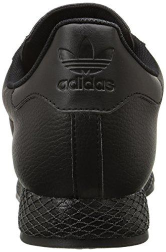 Adidas Heren Samoa Retro Sneaker Zwart / Zwart / Goud