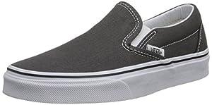 Vans Classic Slip-On Charcoal VN000EYECHR Mens 10, Womens 11.5