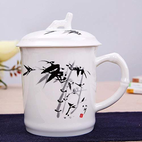 Teacup Ceramic Cup Porcelain Office Cup Gifts - 700 Cocoa