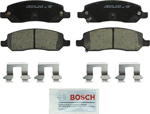 (Bosch BC1172 QuietCast Premium Ceramic Rear Disc Brake Pad)