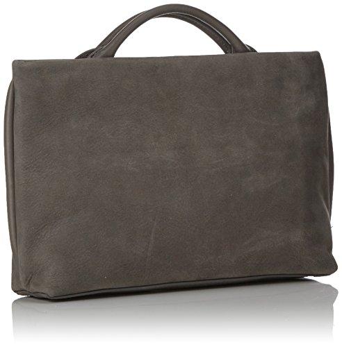 Skagen Ladies Mikkeline Tornis Bag, Grigio (peltro), 6.5x18x25.5 Cm