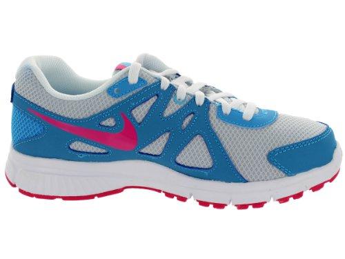 Nike Revolution 2 GS - Zapatillas para niña Azul-Gris