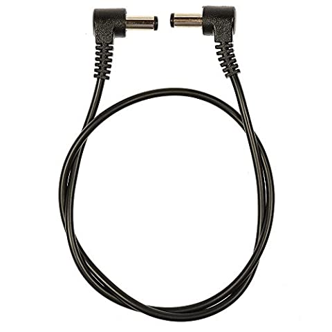 Voodoo Lab Cable 2.1mm Standard Polarity Center Negative Right-Right 18 inch - Voodoo Labs Cables