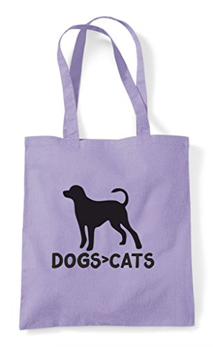 Than Shopper Tote Are Animal Funny Cute Bag Dogs Cats Themed Greater Lavender ZExAwqna